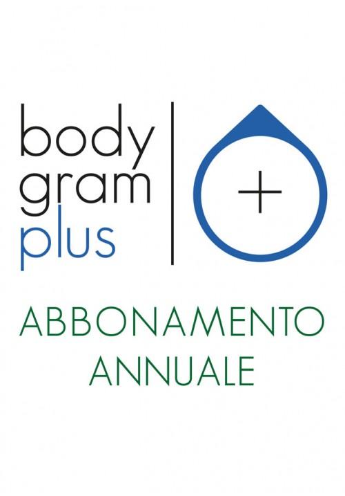 BODYGRAM PLUS  Abbonamento annuale